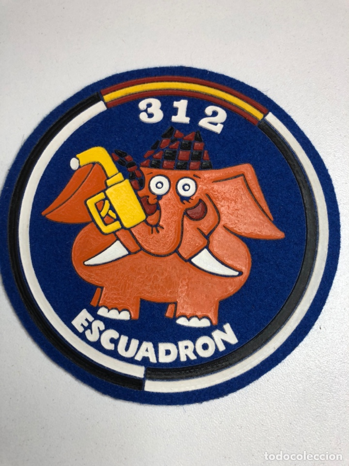 Militaria: Parches emblemas 311 escuadrón - 312 escuadrón - Foto 3 - 227981220