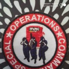 Militaria: PARCHE EMBLEMA DISTINTIVO POLICIAL POLICIA COMANDOOO OPERACIONES ESPECIALES SINGAPUR ASIA. Lote 228001345