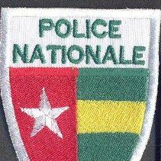 Militaria: TOGO - PARCHE DE POLICIA. Lote 228785435