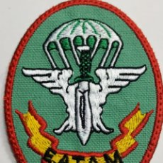 Militaria: PARCHE EMBLEMA DE BRAZO BORDADO A COLOR DE E.A.T.A.M ZAPADORES PARACAIDISTAS E. DEL AIRE. Lote 229212320