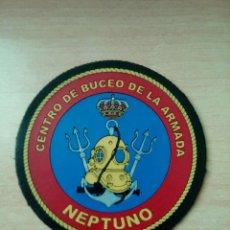 Militaria: PARCHE BRAZO CENTRO DE BUCEO DE LA ARMADA NEPTUNO. Lote 229745265