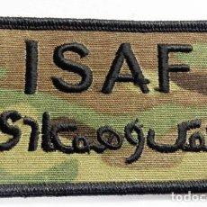 Militaria: PARCHE USA: ISAF. Lote 229927495