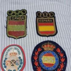 Militaria: PARCHES FEDERACION ESPAÑOLA TIRO OLIMPICO.. Lote 230929745