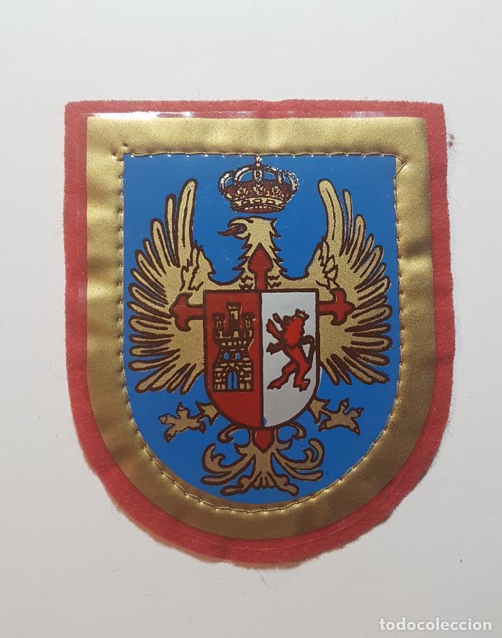 ESCUDO DESTINO 1ª REGION MILITAR - MADRID - EJERCITO DE TIERRA (Militar - Parches de tela )