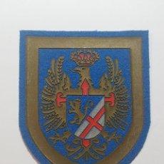 Militaria: ESCUDO DESTINO 5ª REGION MILITAR - ZARAGOZA - EJERCITO DE TIERRA. Lote 231892300