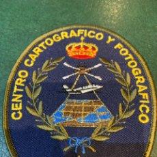 Militaria: PARCHE EJÉRCITO DEL AIRE - CENTRO CARTOGRÁFICO Y FOTOGRAFICO. Lote 262668745