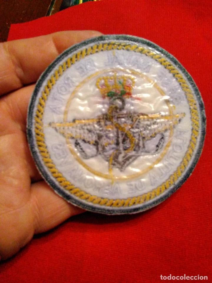 Militaria: PARCHE EJERCITO ESPAÑOL BASE NAVAL ROTA FLOTILLA AERONAVES - Foto 2 - 234928065