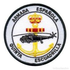 Militaria: PARCHE ARMADA ESPAÑOLA QUINTA ESCUADRILLA. Lote 235069015