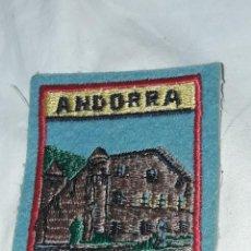 Militaria: ANTIGUO PARCHE ANDORRA. Lote 235388950