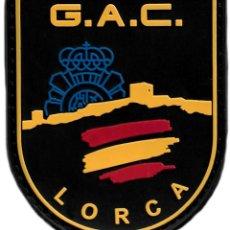 Militaria: POLICÍA NACIONAL CNP GAC 091 LORCA PARCHE INSIGNIA EMBLEMA DISTINTIVO EB01506. Lote 236021550