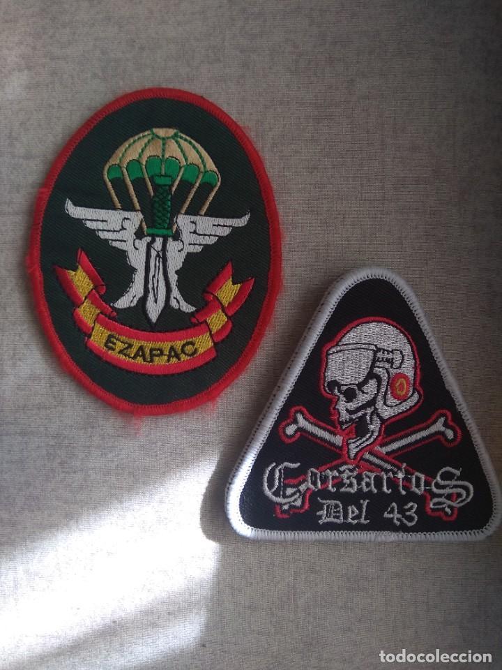 PARCHE DEL EZAPAC Y GRUPO 43 CORSARIOS DEL EJÉRCITO DEL AIRE (Militar - Parches de tela )