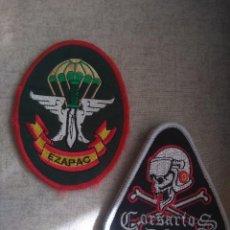 Militaria: PARCHE DEL EZAPAC Y GRUPO 43 CORSARIOS DEL EJÉRCITO DEL AIRE. Lote 237855465