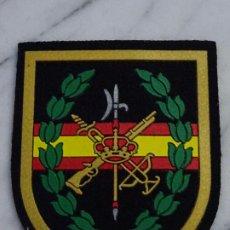 Militaria: PARCHE MILITAR LEGIONARIO. LEGIÓN ESPAÑOLA. LAURELES Y BANDERA DE ESPAÑA. Lote 238517020