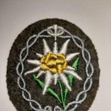 Militaria: PARCHE DE BRAZO DE CAPITÁN DE TROPAS DE MONTAÑA DEL HERR. III REICH.. Lote 240227450