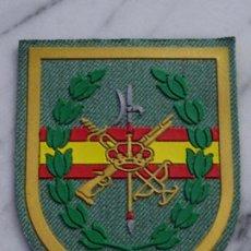 Militaria: PARCHE MILITAR LEGIONARIO. LEGIÓN ESPAÑOLA. LAURELES Y BANDERA DE ESPAÑA. SUBINSPECCION SARGA. Lote 241707825