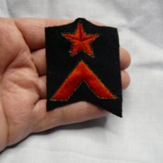 Militaria: PARCHE CABO GUARDIA DE ASALTO REPUBLICA ORIGINAL - FABRICADO POR CASTELLS - GUERRA CIVIL. Lote 234363930