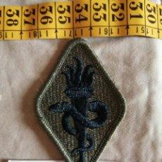 Militaria: USA PARCHE VERDE ACADEMIA MILITAR SANIDAD NUEVO Y ACTUAL. Lote 243500505