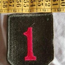 Militaria: USA - PARCHE DE LA 1ª DIVISIÓN DE INFANTERÍA BIG RED ONE -PARCHE NUEVO Y MAS O MENOS ACTUAL. Lote 243501040