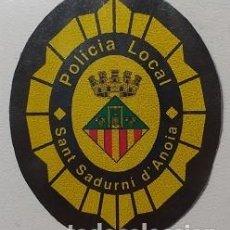 Militaria: PARCHE POLICÍA LOCAL (1096). Lote 243881585