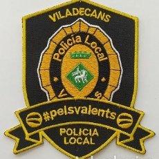 Militaria: PARCHE POLICÍA LOCAL (534). Lote 243883875
