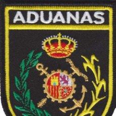 Militaria: PARCHE SERVICVIO VIGILANCIA ADUANERA (ADUANAS) CON VELCRO. Lote 243979670