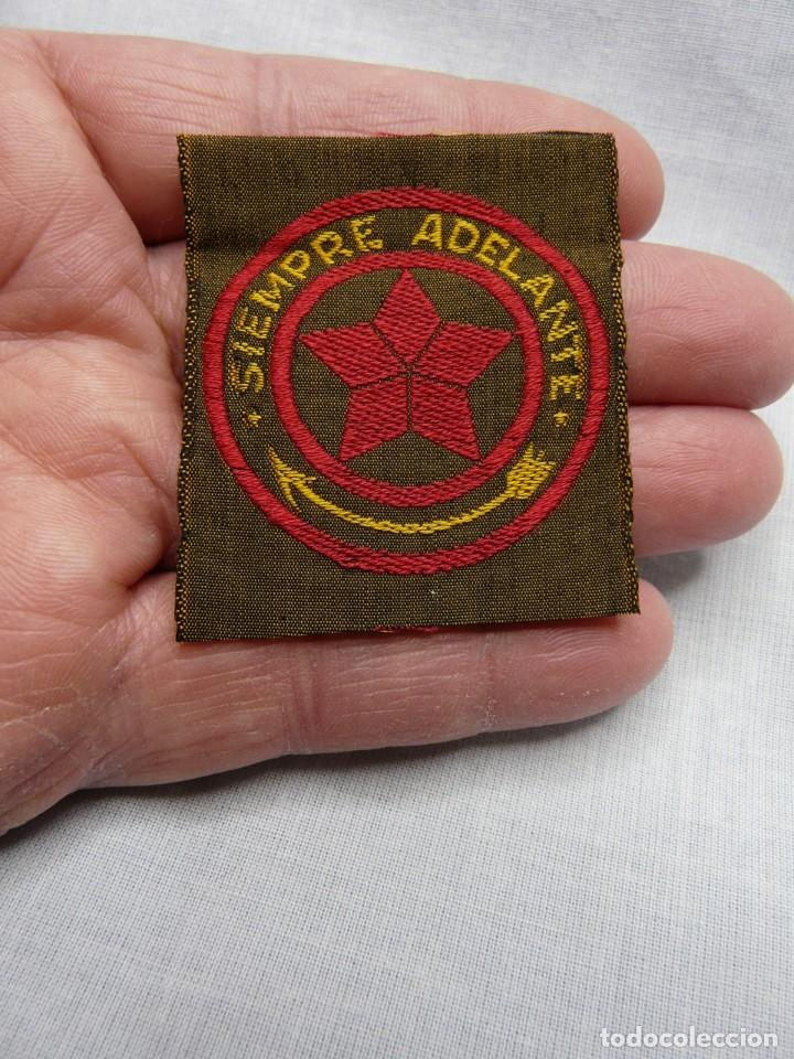 SCOUT PARCHE DE TELA BOY SCOUT AÑOS 30 SIEMPRE ADELANTE - SCOUTS ESPAÑA (Militar - Parches de tela )