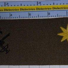 Militaria: PARCHE GALLETA EMBLEMA DE PECHO MILITAR LEGIONARIO. LEGIÓN ESPAÑOLA. COMANDANTE. Lote 245121200