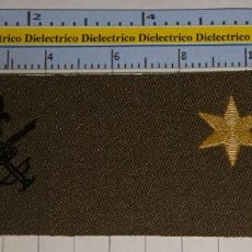 Militaria: PARCHE GALLETA EMBLEMA DE PECHO MILITAR LEGIONARIO. LEGIÓN ESPAÑOLA. ALFÉREZ. Lote 245121400