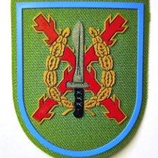 Militaria: PARCHE BRAZO MOE COLOR VERDE LEGIÓN FILO CELESTE. Lote 246970520
