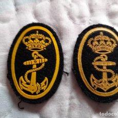 Militaria: PARCHES DE BOINA ARMADA AÑOS 80 Y 90. Lote 248355965