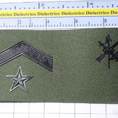 Militaria: PARCHE GALLETA EMBLEMA DE PECHO MILITAR LEGIONARIO. LEGIÓN ESPAÑOLA. SUBTENIENTE. Lote 249593440