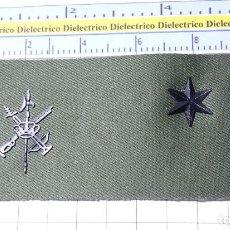 Militaria: PARCHE GALLETA EMBLEMA DE PECHO MILITAR LEGIONARIO. LEGIÓN ESPAÑOLA. ALFÉREZ. Lote 249593485
