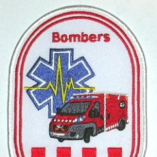 Militaria: PARCHE DE BOMBEROS CATALUÑA GEM. Lote 251022730