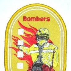 Militaria: PARCHE DE BOMBEROS CATALUÑA GRAF FORESTALES. Lote 251022770