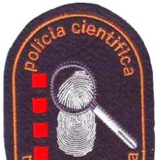 Militaria: PARCHE POLICIA MOSSOS D´ESCUADRA CIENTIFICA. Lote 251023650