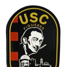 Militaria: PARCHE POLICÍA MOSSOS D'ESQUADRA (USC FIGUERES) PVC 2D CON VELCRO. Lote 296728498