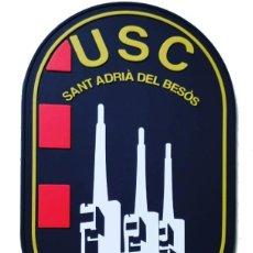Militaria: PARCHE POLICÍA MOSSOS D'ESQUADRA (USC SANT ADRIÀ DE BESÒS) PVC 2D CON VELCRO. Lote 251816930