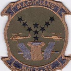 Militaria: PARCHE USA: MALS-39,MARINE AVIATION. Lote 251931055