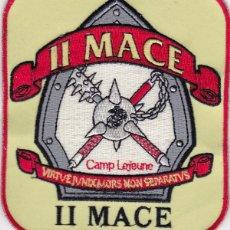 Militaria: PARCHE USA: II MACE, CAMP LEGEUNE. Lote 251931165