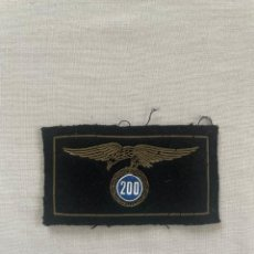 Militaria: PARCHE EMBLEMA MILITAR PARACAIDISTA EN PVC DE 200 SALTOS. Lote 251935365