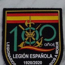 Militaria: PARCHE MILITAR LEGIONARIO. LEGIÓN ESPAÑOLA. I CENTENARIO 1920 2020. 100 AÑOS. Lote 252816135
