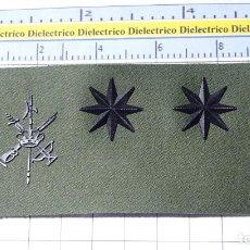 Militaria: PARCHE GALLETA EMBLEMA DE PECHO MILITAR LEGIONARIO. LEGIÓN ESPAÑOLA. CORONEL. Lote 252947355