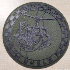 Militaria: PARCHE BRAZO FAMET UHEL II REDONDO VERDE FAENA (2). Lote 254554805
