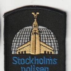 Militaria: SUECIA - POLICIA - POLICE / PARCHE - ÈCUSSON - PATCH. Lote 255498625