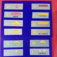 Militaria: LOTE DE GALONES DE PECHO DE LA LEGIÓN. Lote 255938295