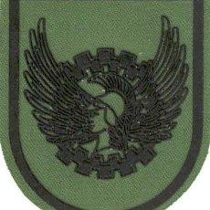 Militaria: PARCHE BRAZO FAMET CEFAMET DESDE 1995 ESCUDO ESPAÑOL VERDE FAENA. Lote 257279630