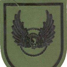 Militaria: PARCHE BRAZO FAMET CEFAMET HASTA 1995 ESCUDO ESPAÑOL VERDE FAENA. Lote 257279770