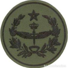 Militaria: PARCHE BRAZO FAMET CUARTEL GENERAL REDONDO VERDE FAENA. Lote 257280825