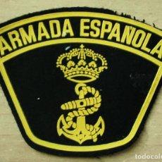 Militaria: PARCHE BRAZO ARMADA ESPAÑOLA NEGRO FIELTRO Y PLÁSTICO (1). Lote 257281475