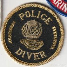 Militaria: POLICIA - POLICE / PARCHE - ÈCUSSON - PATCH. Lote 257379235